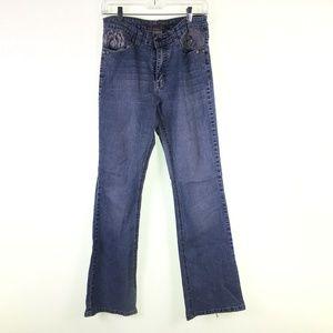 Daniel Jeans Womens Funky Flare Jeans DR10132